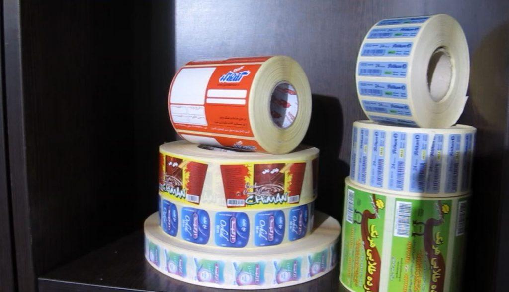 پارسیان لیبل تولید کننده انواع برچسب و لیبل
